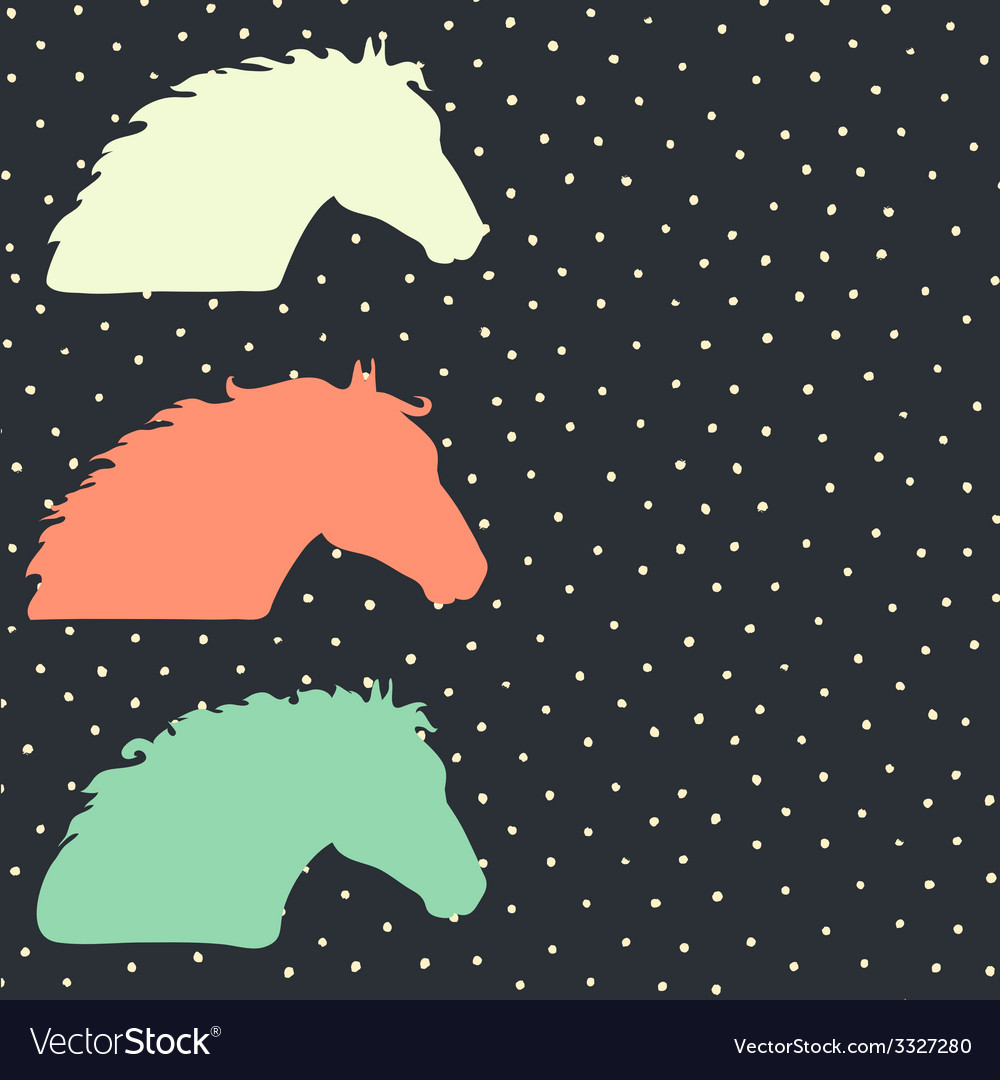 Horsehead6 vector | Price: 1 Credit (USD $1)