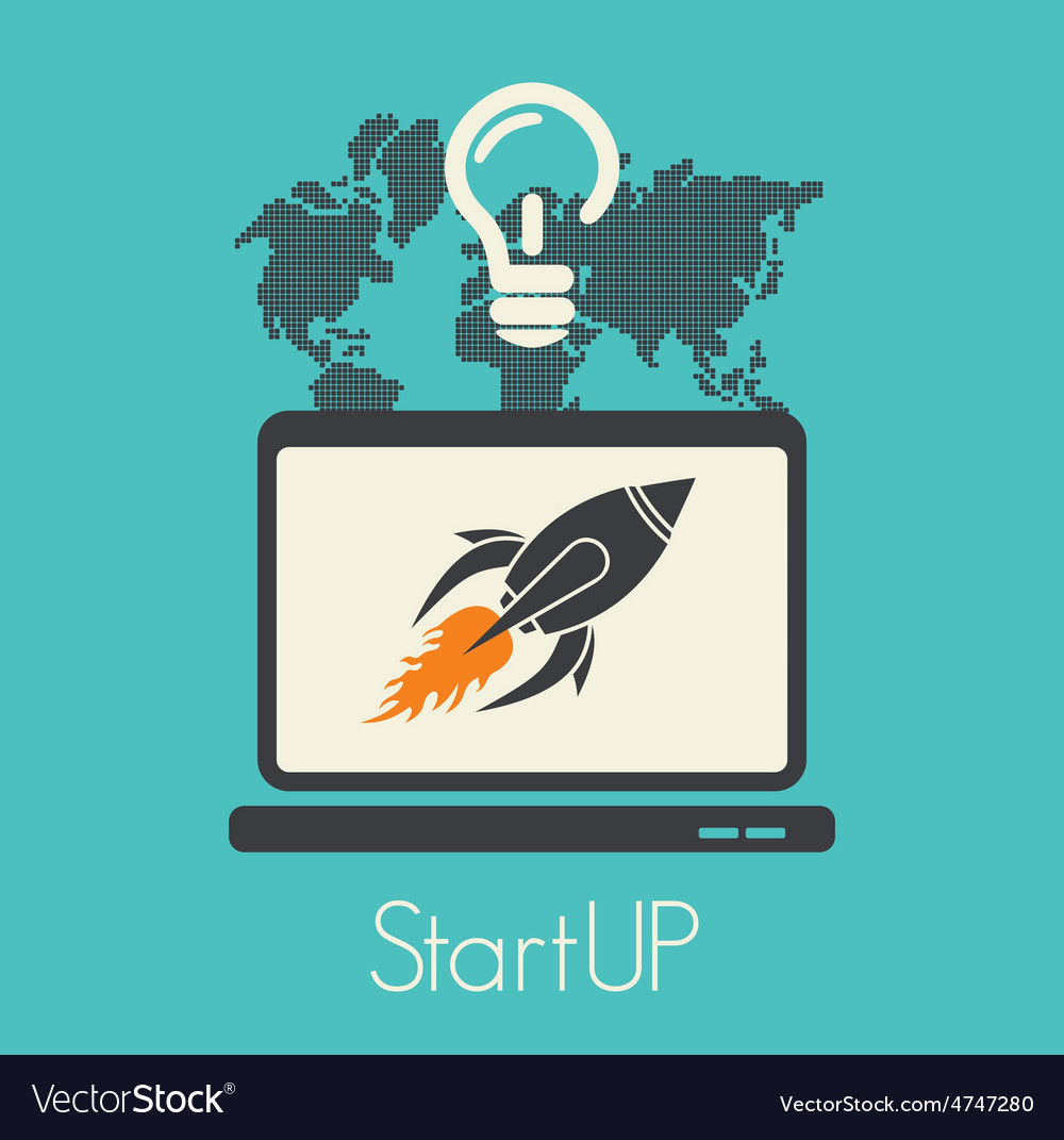 Start up1 resize vector   Price: 1 Credit (USD $1)