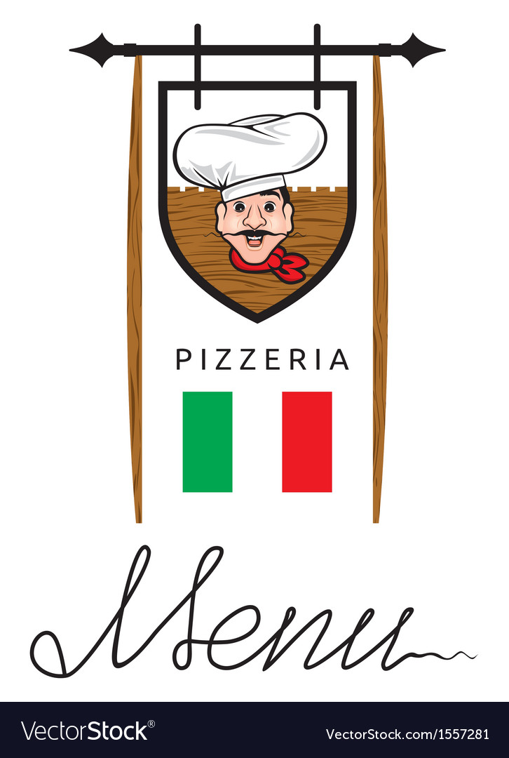 Italian restaurant menu vector | Price: 1 Credit (USD $1)