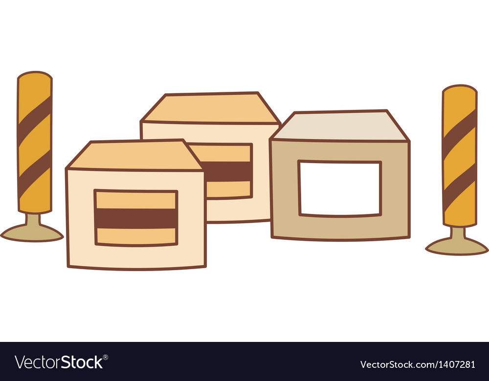 The package vector | Price: 1 Credit (USD $1)