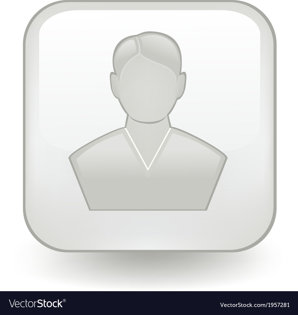 User button vector | Price: 1 Credit (USD $1)