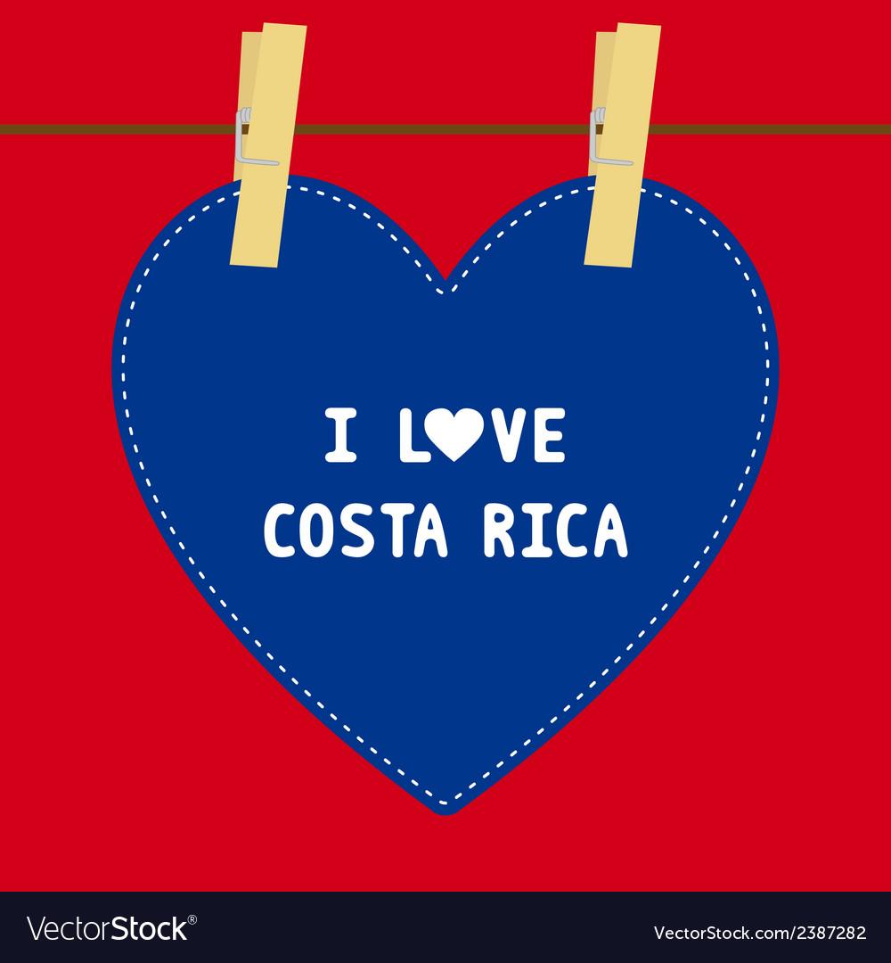 I love costa rica5 vector   Price: 1 Credit (USD $1)