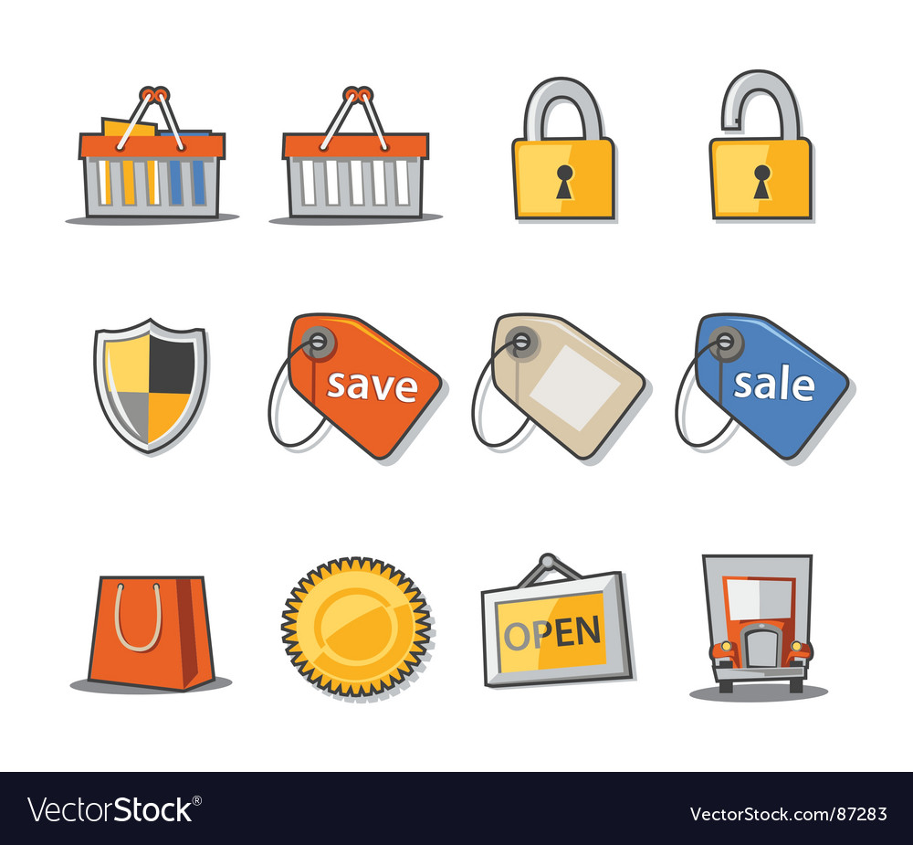 Shopping and retail vector | Price: 1 Credit (USD $1)