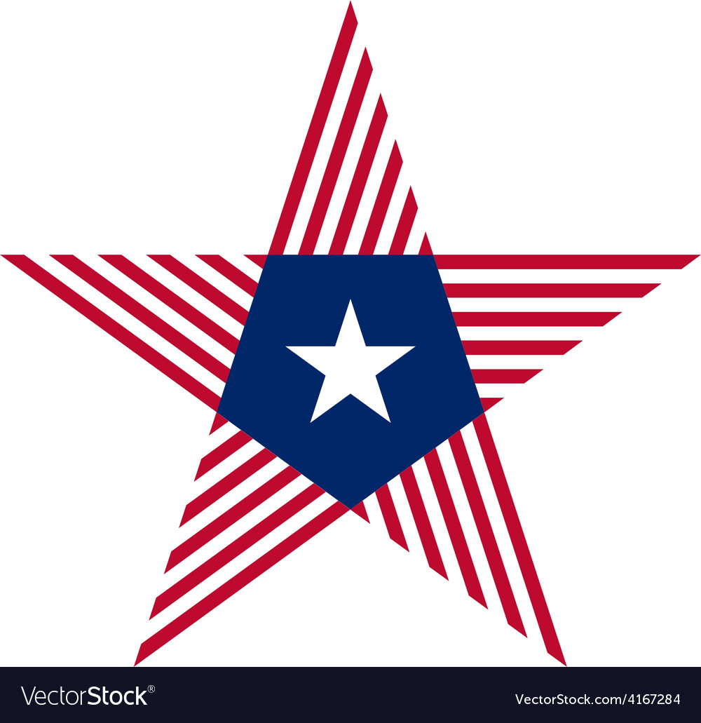 Abstract star with liberia flag colors and symbols vector | Price: 1 Credit (USD $1)