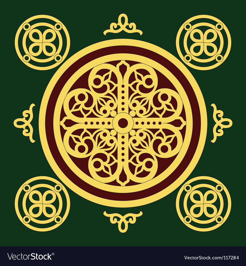 Christian orthodox pattern vector | Price: 1 Credit (USD $1)