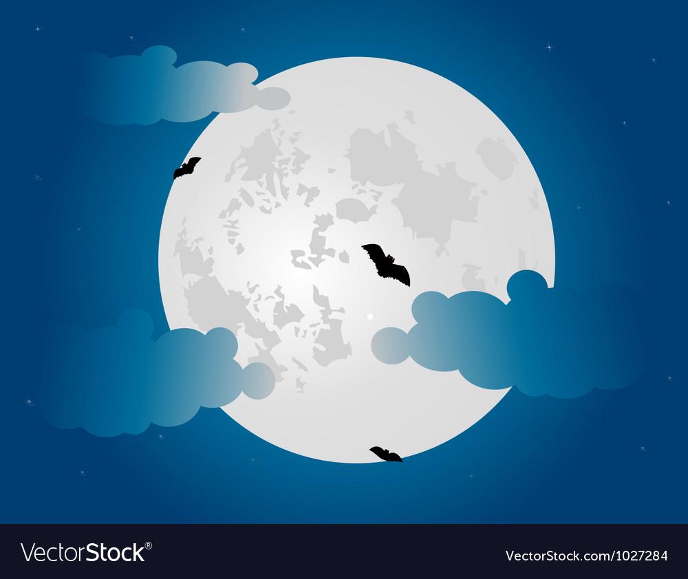 Night sky vector | Price: 1 Credit (USD $1)