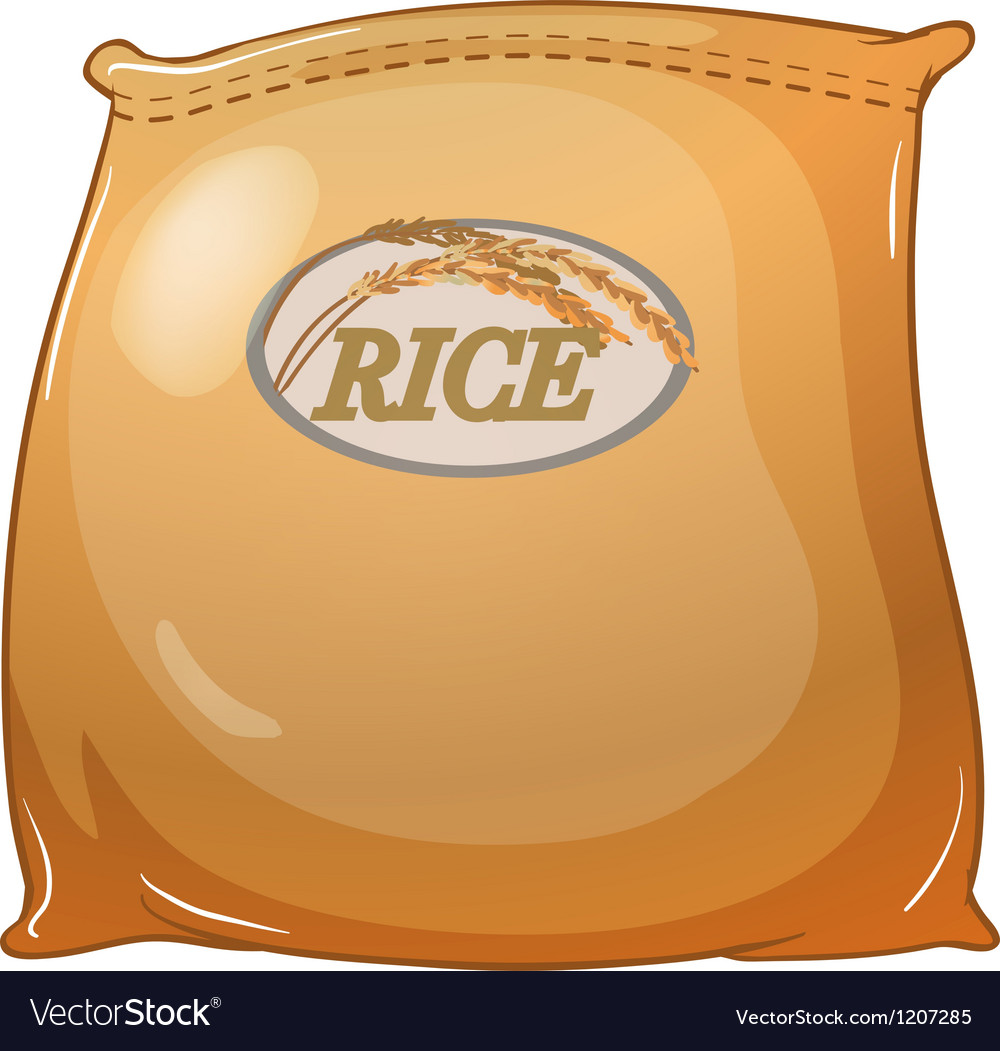 A sack of rice vector | Price: 1 Credit (USD $1)
