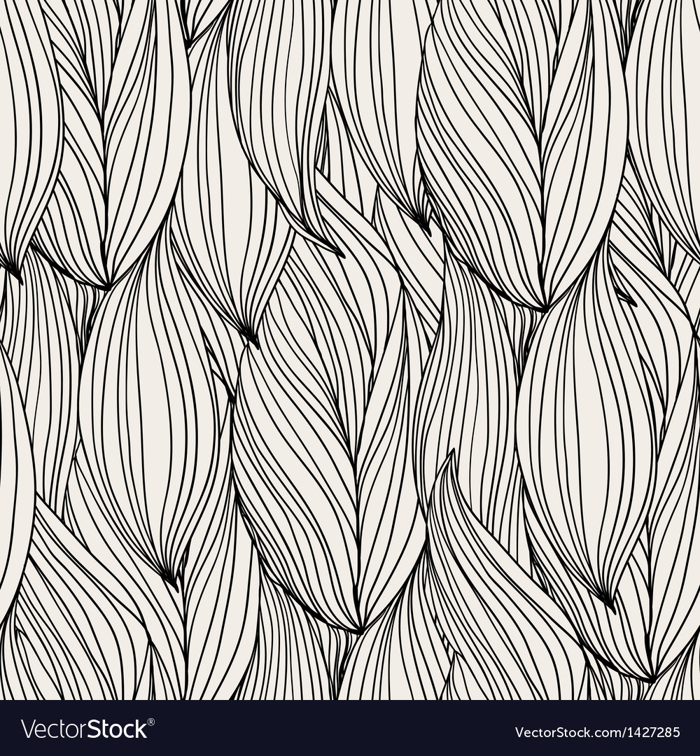 Abstract seamless pattern waves vector | Price: 1 Credit (USD $1)