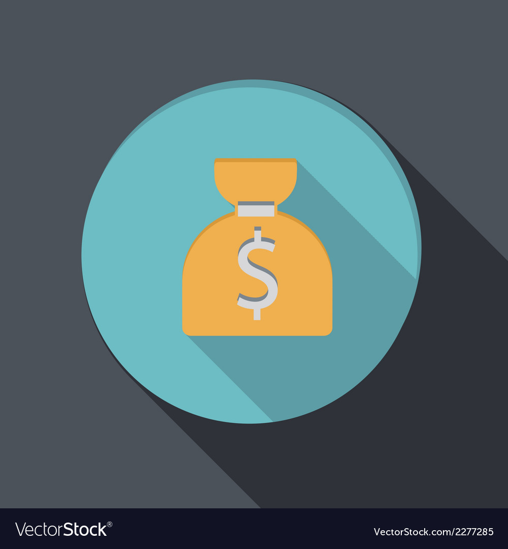 Banking financial icon in flat design vector   Price: 1 Credit (USD $1)