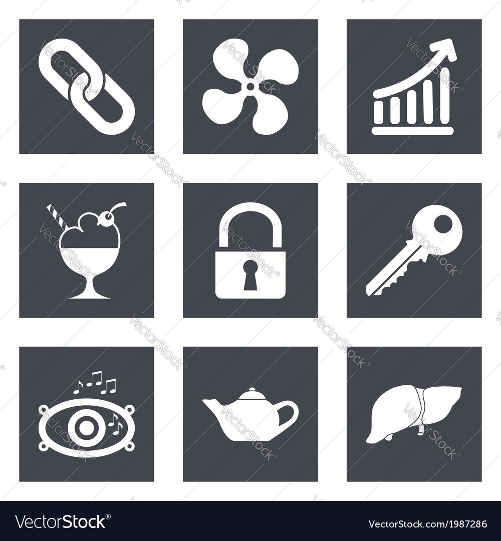 Icons for web design set 20 vector | Price: 1 Credit (USD $1)