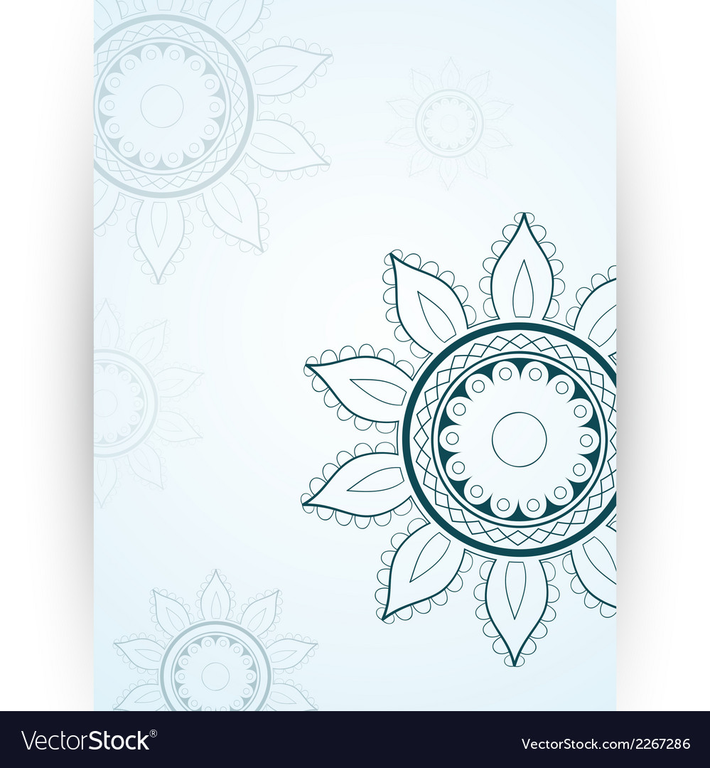 Invitation card template vector | Price: 1 Credit (USD $1)