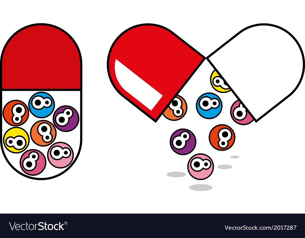 Pill vector | Price: 1 Credit (USD $1)