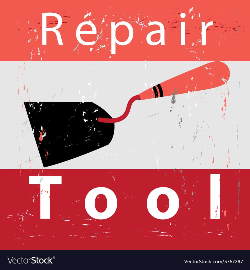 Retro poster repair vector | Price: 1 Credit (USD $1)