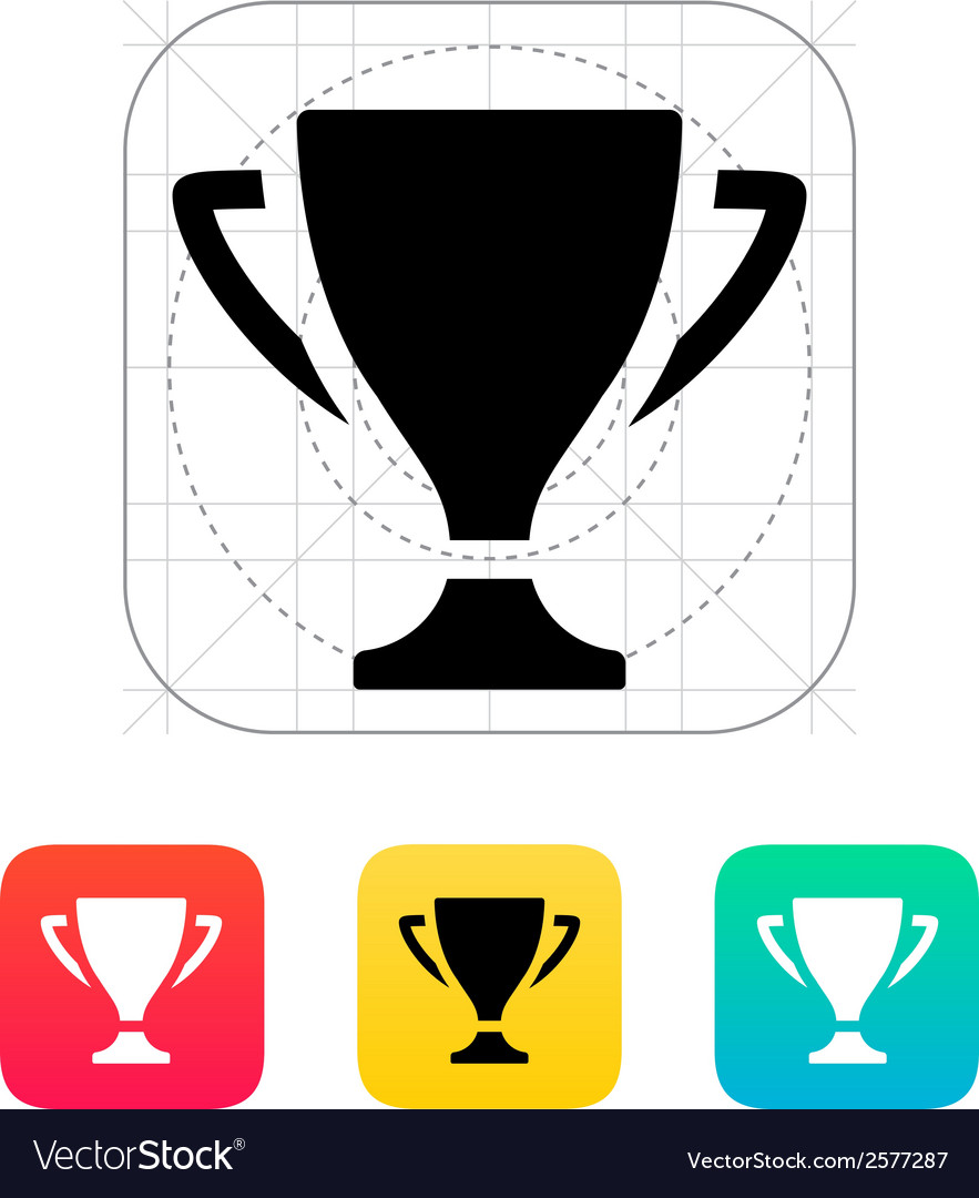 Trophy icon vector | Price: 1 Credit (USD $1)