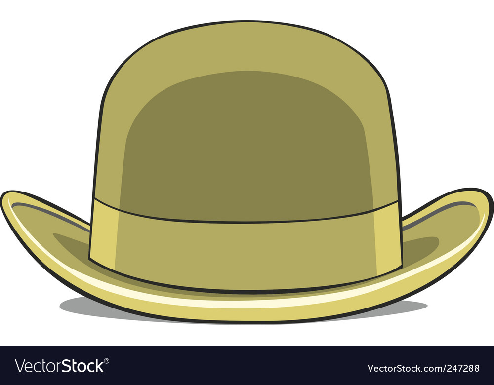 Illustration of one hat derby vector | Price: 1 Credit (USD $1)