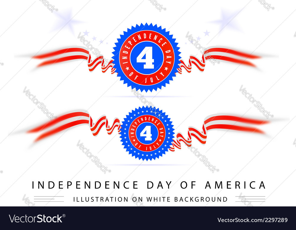 4th july american independence vector | Price: 1 Credit (USD $1)