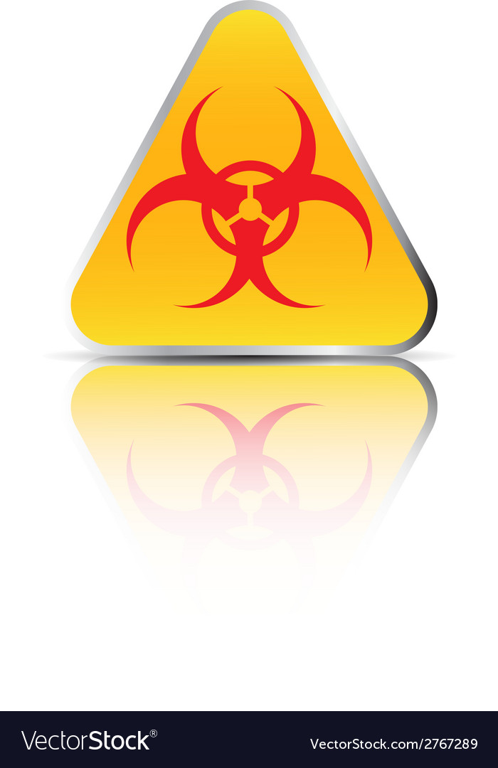 Biohazard sign2 vector | Price: 1 Credit (USD $1)