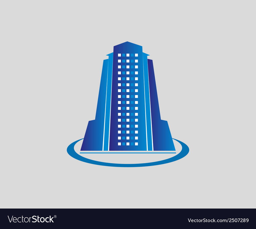 Building icon symbol building logo vector | Price: 1 Credit (USD $1)