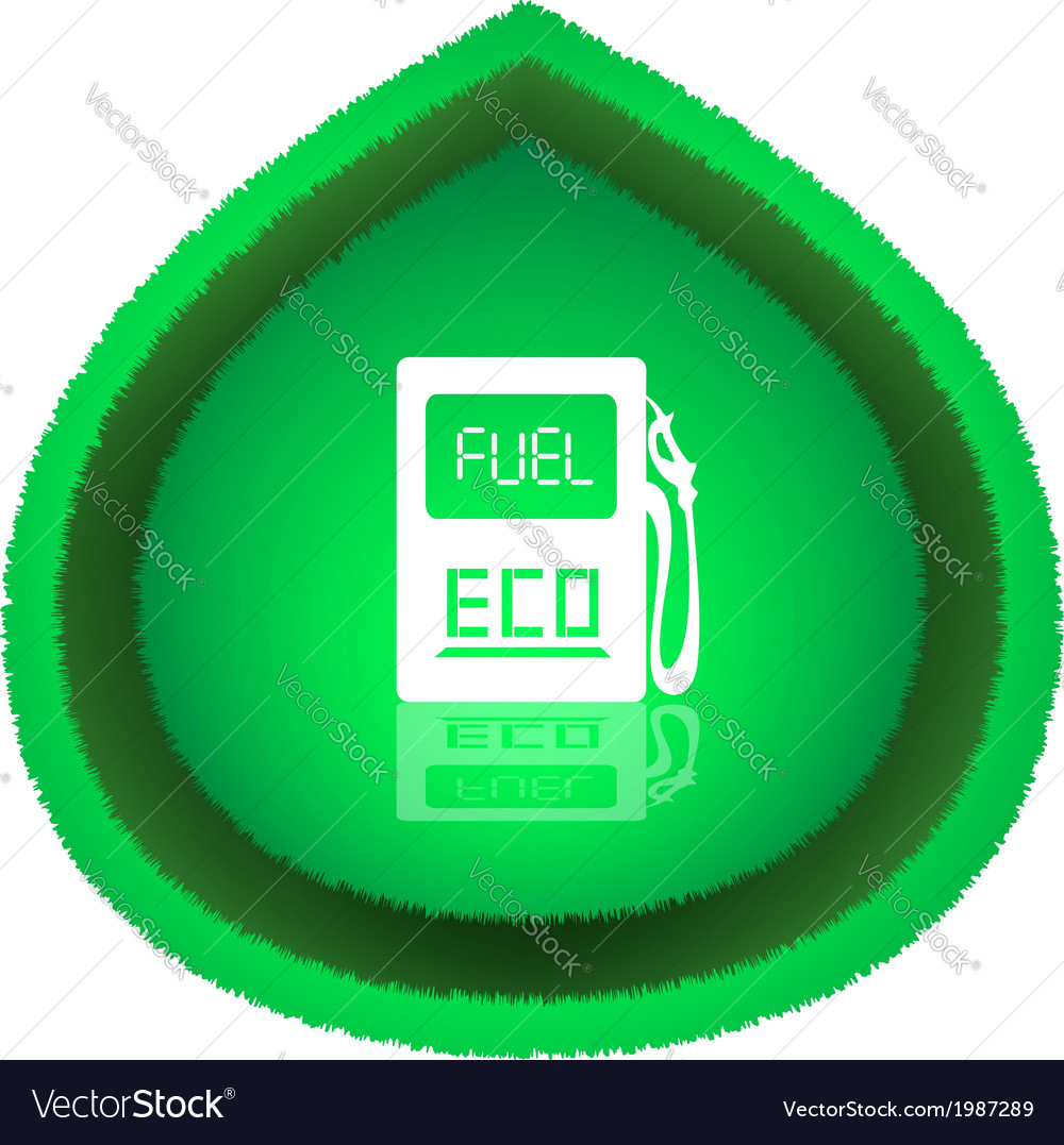 Eco fuel concept vector | Price: 1 Credit (USD $1)
