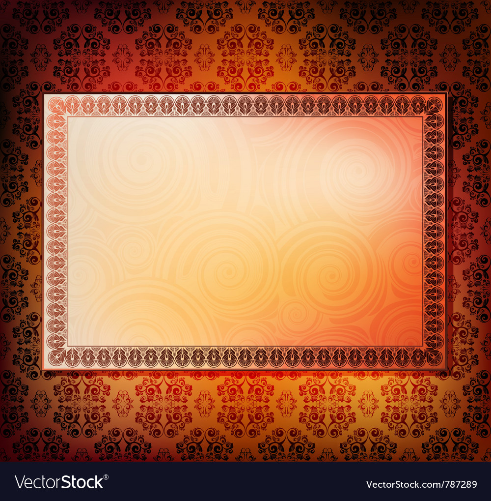 Ornamented frames vector | Price: 1 Credit (USD $1)