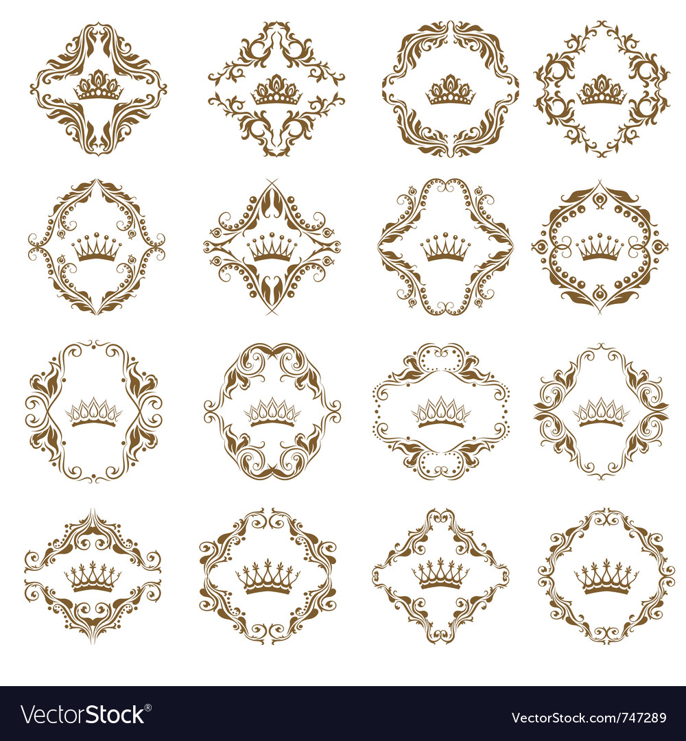 Victorian crown vector | Price: 1 Credit (USD $1)