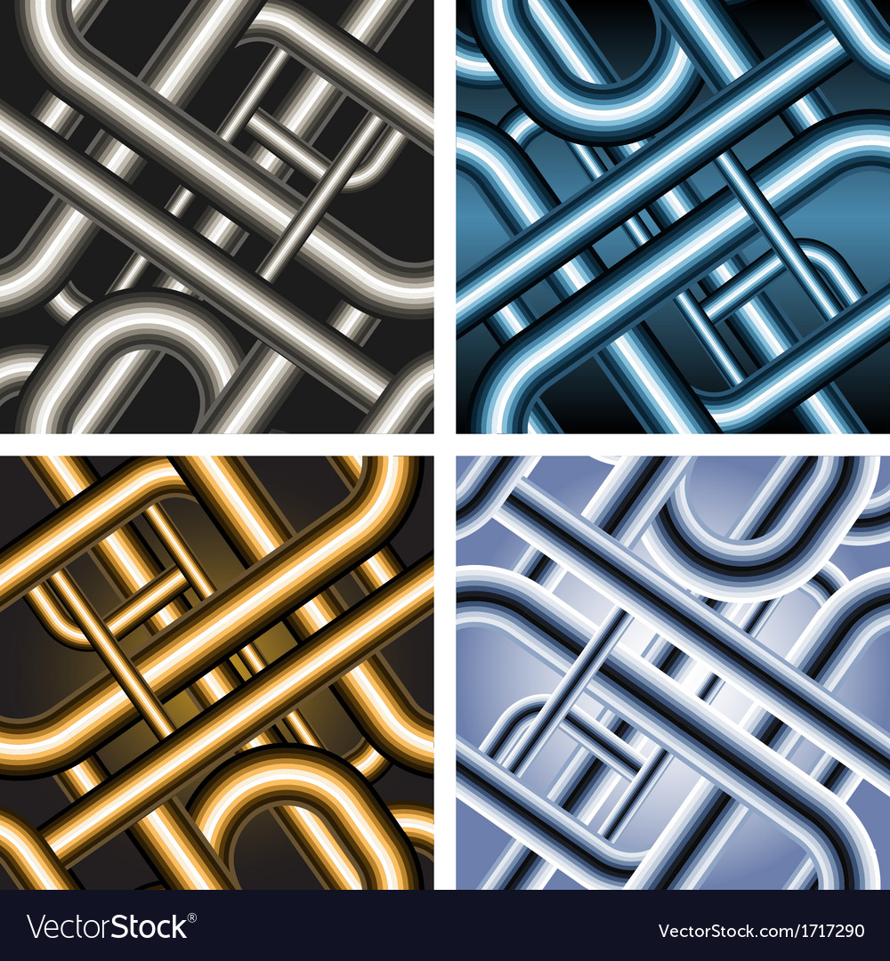 Seamless pipe pattern vector | Price: 1 Credit (USD $1)