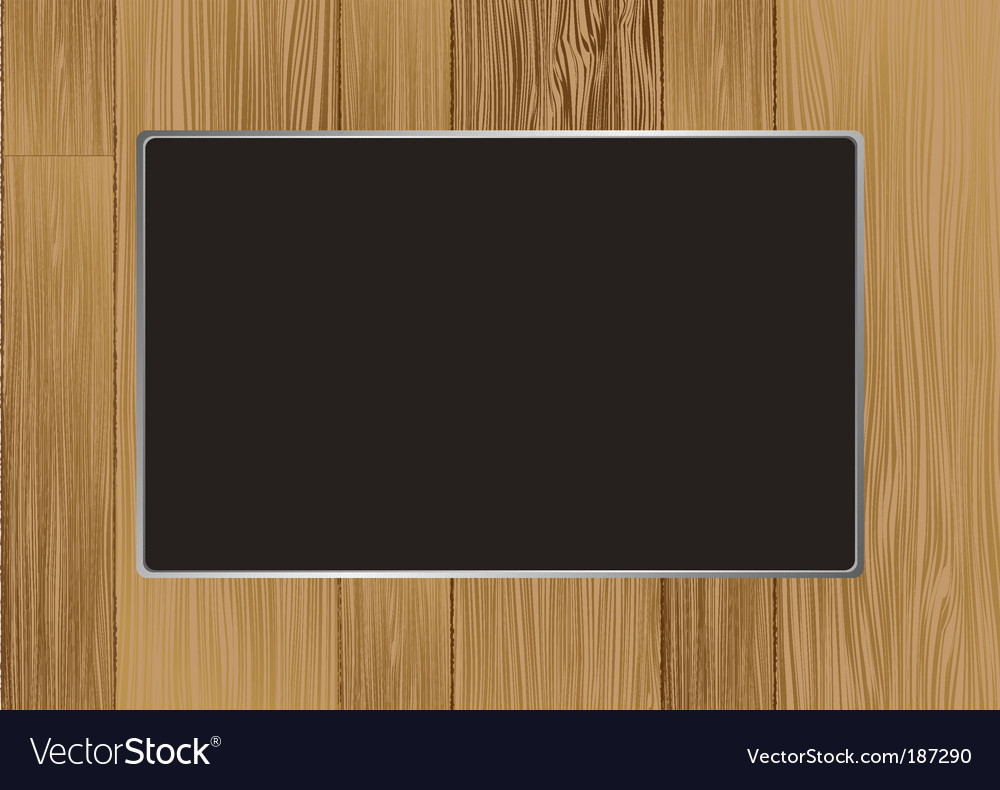 Wooden picture frame vector | Price: 1 Credit (USD $1)