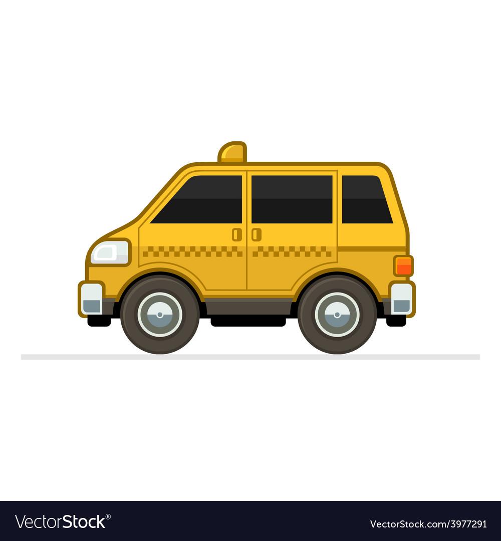 Taxi car vector | Price: 1 Credit (USD $1)