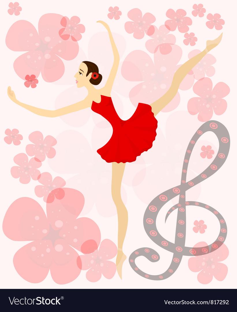 Balet vector | Price: 1 Credit (USD $1)