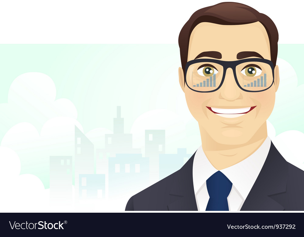 Successful businessman vector | Price: 3 Credit (USD $3)