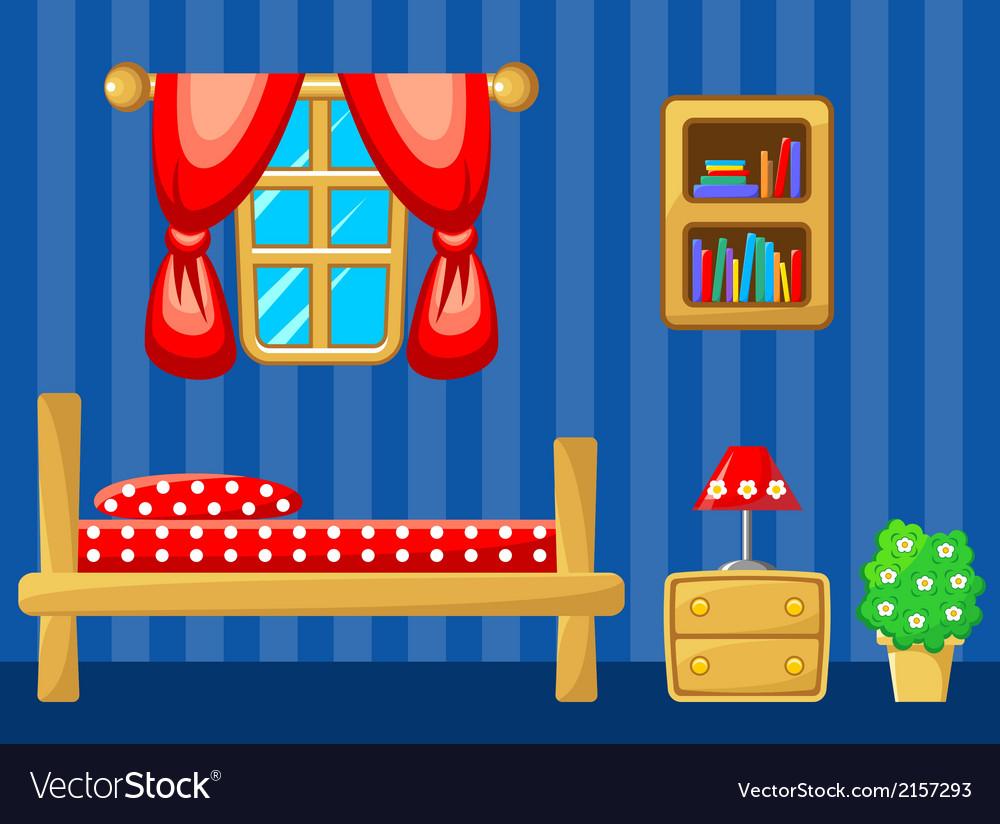Bedroom vector | Price: 1 Credit (USD $1)