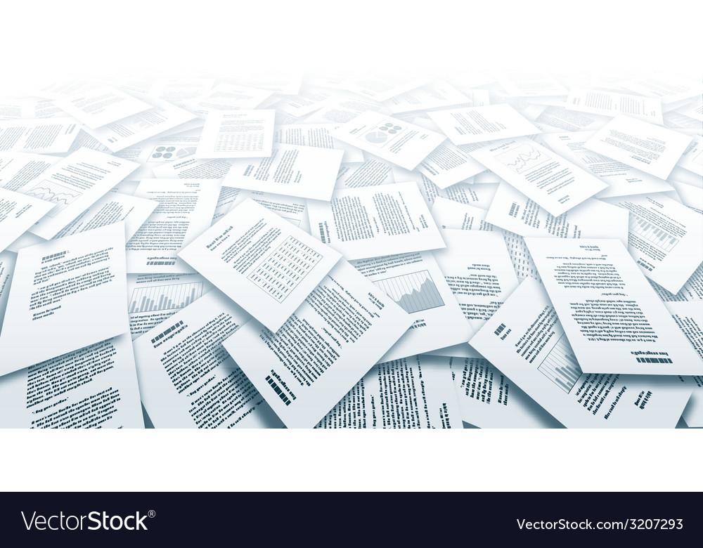Documents vector | Price: 1 Credit (USD $1)