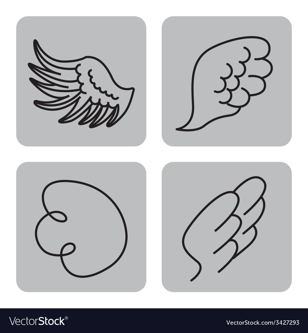 Wings design vector | Price: 1 Credit (USD $1)