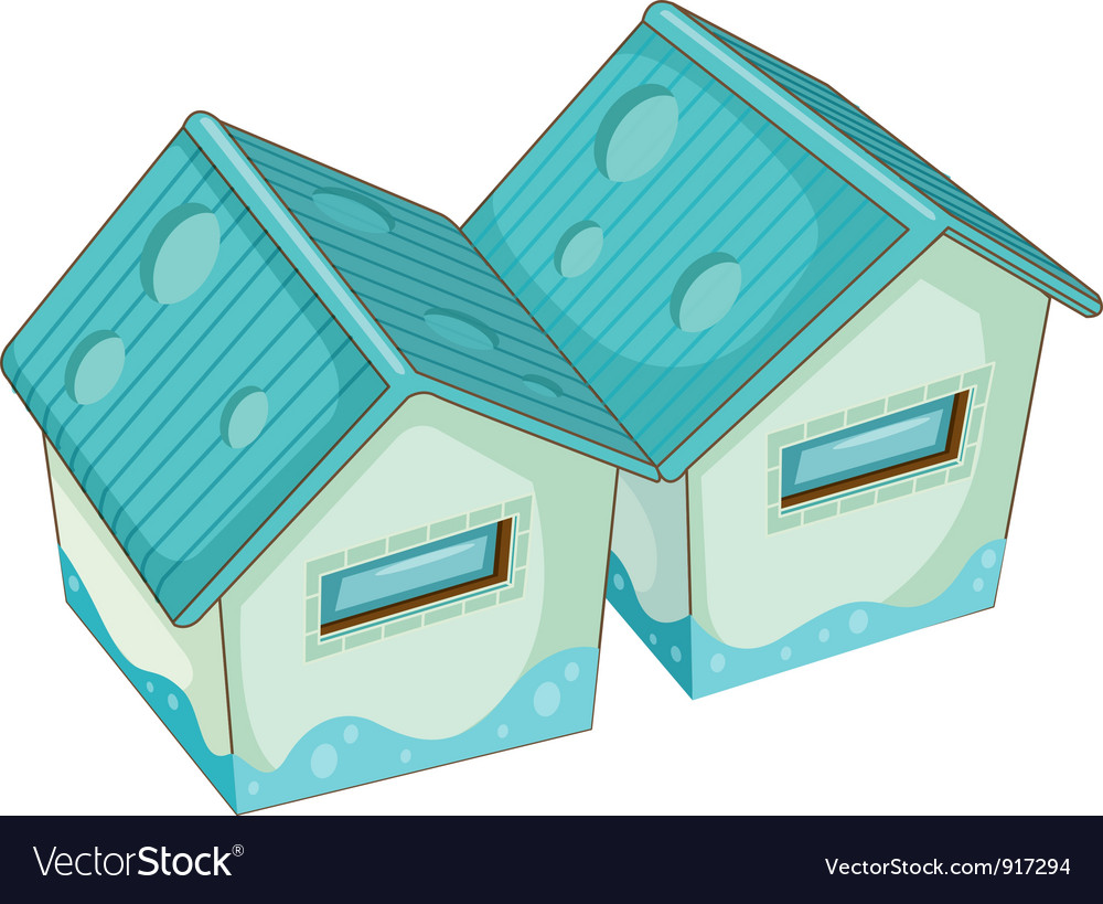 2 buildings vector | Price: 1 Credit (USD $1)