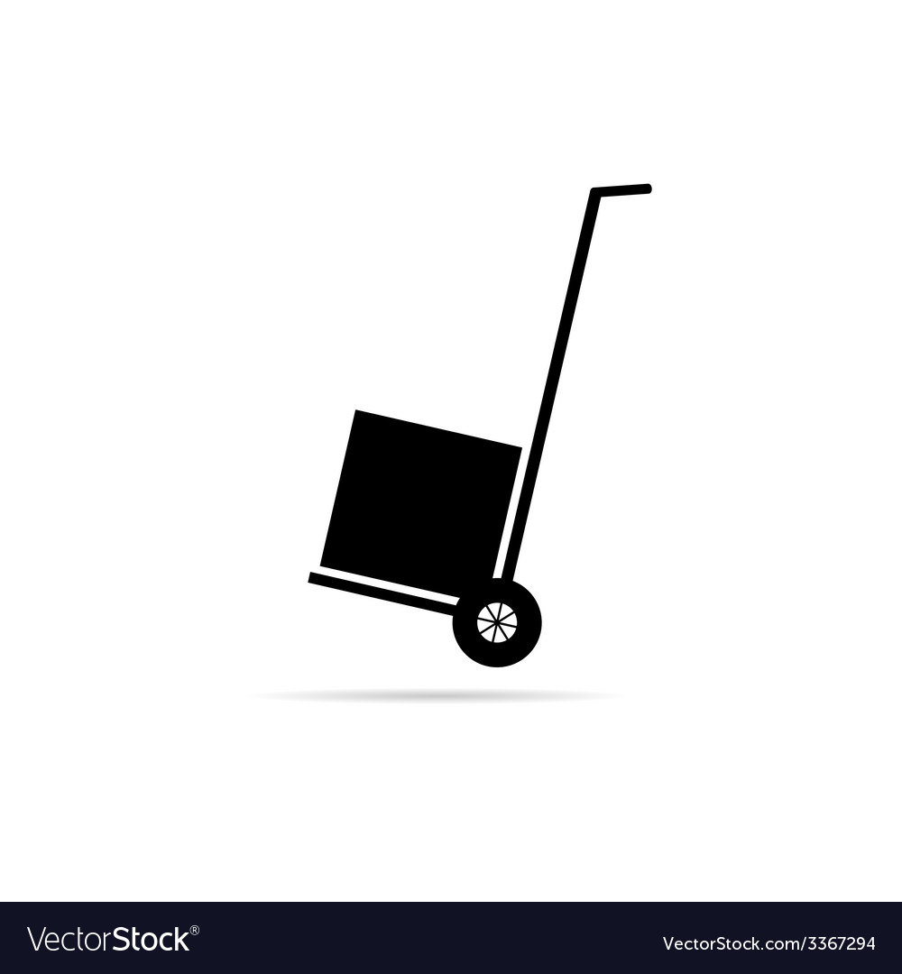 Carts for delivery of goods vector | Price: 1 Credit (USD $1)