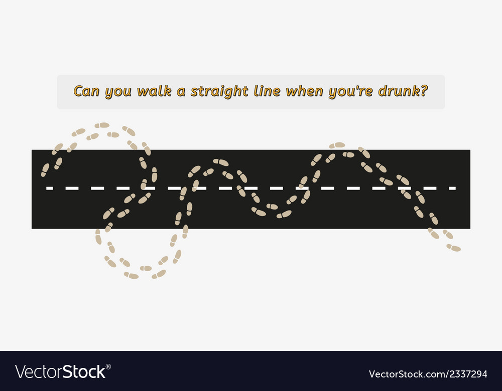 Drunk and walking vector | Price: 1 Credit (USD $1)