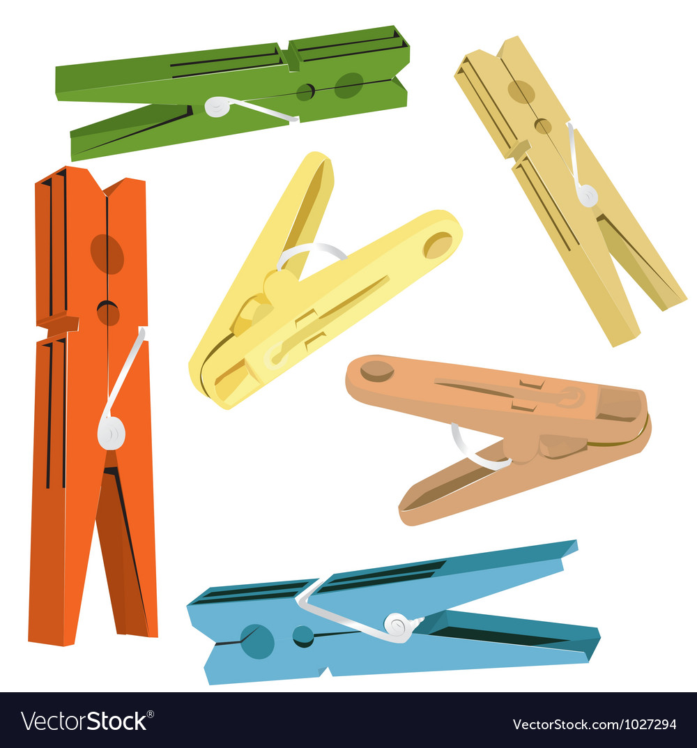 Pegs vector | Price: 1 Credit (USD $1)