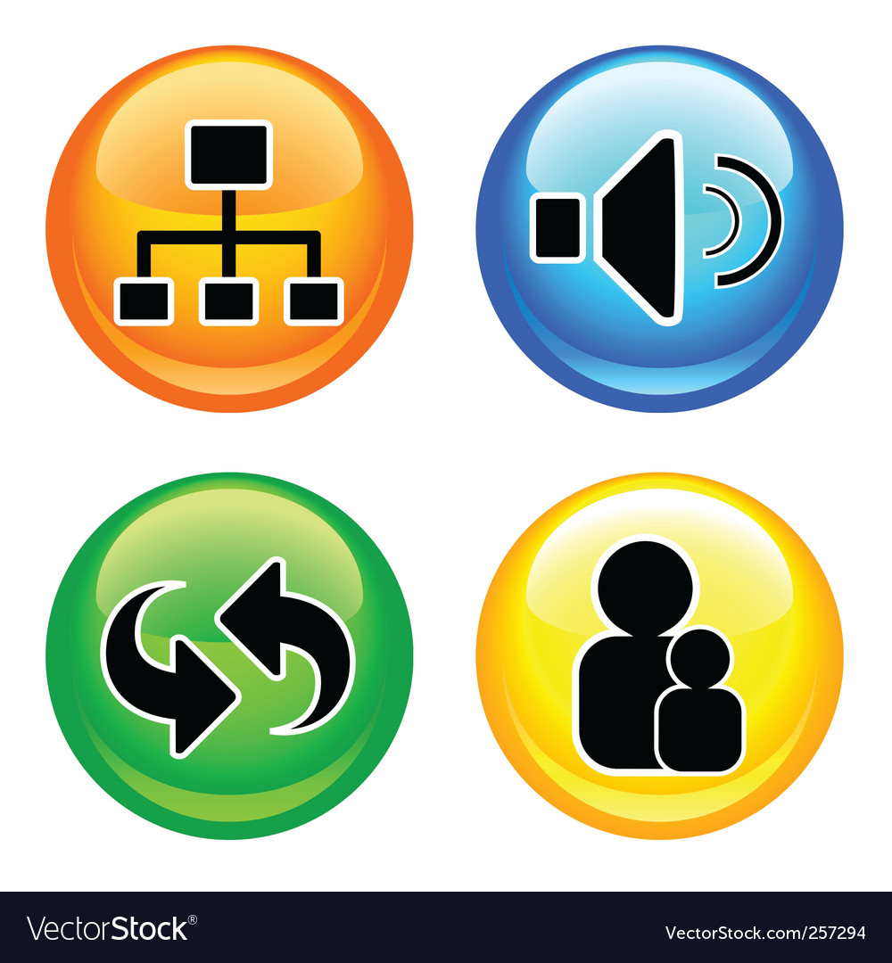 Shiny web buttons vector   Price: 1 Credit (USD $1)