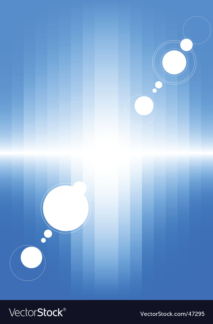 Blue background with cold light vector | Price: 1 Credit (USD $1)