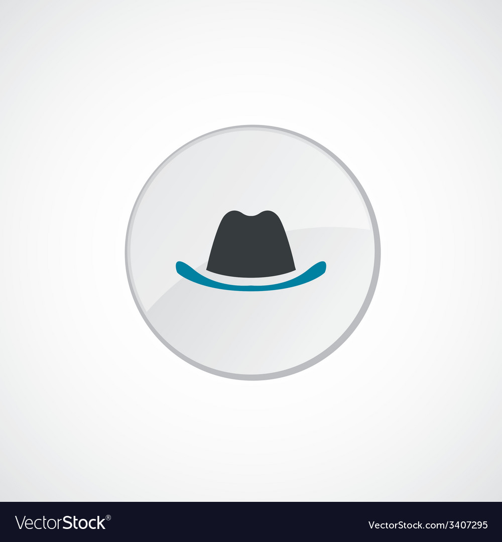Hat icon 2 colored vector | Price: 1 Credit (USD $1)