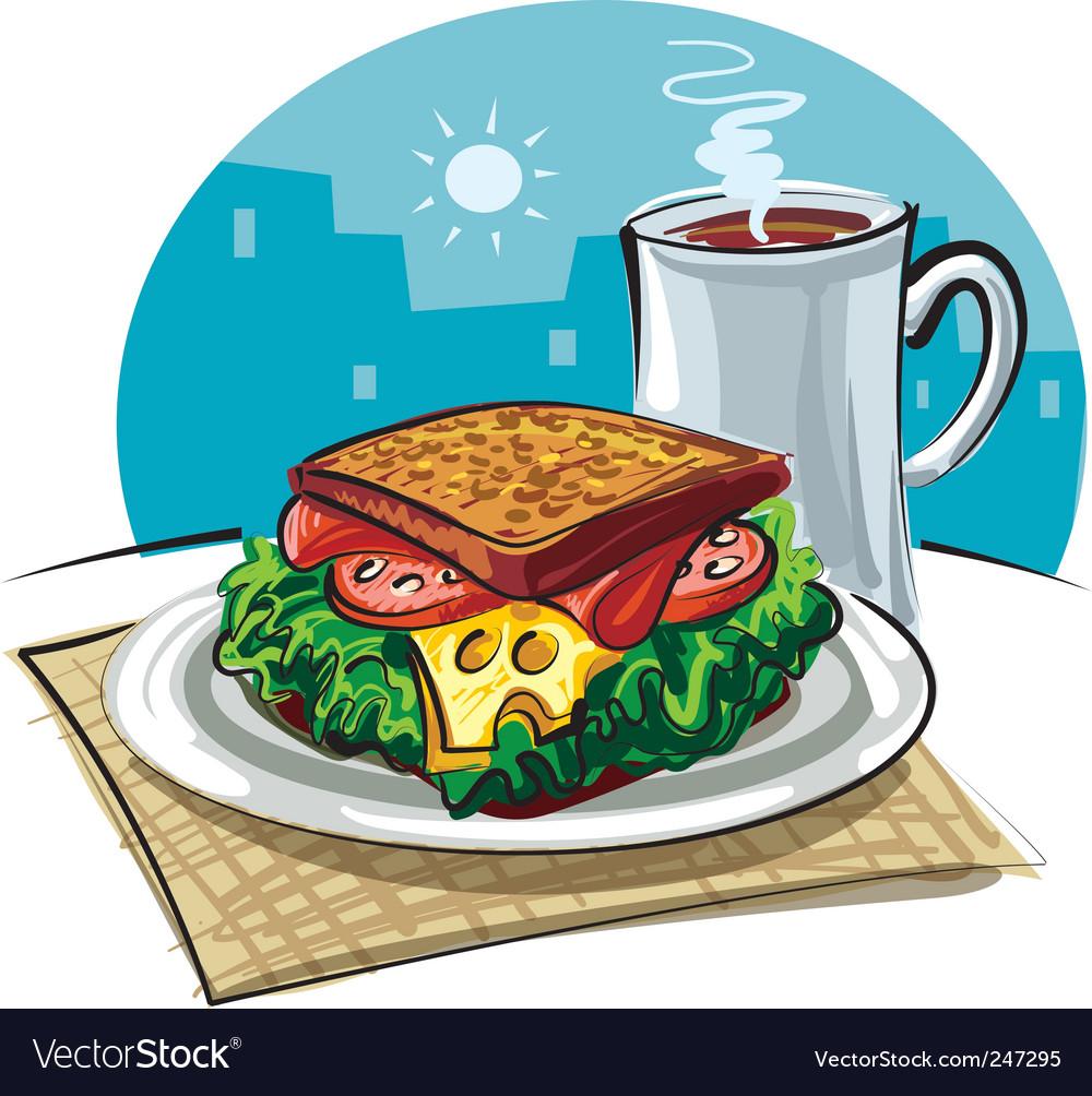 Sandwich vector | Price: 3 Credit (USD $3)
