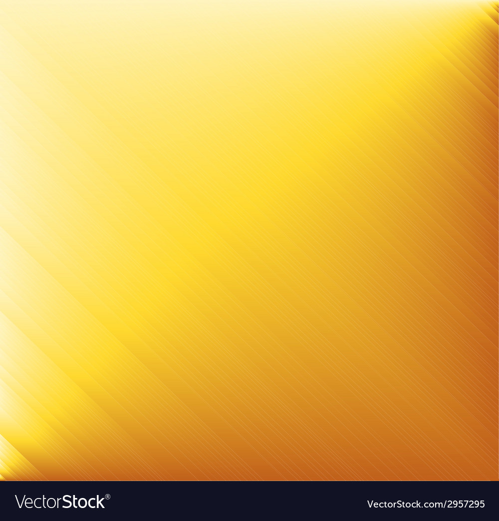 Yellow brushed metal background vector | Price: 1 Credit (USD $1)