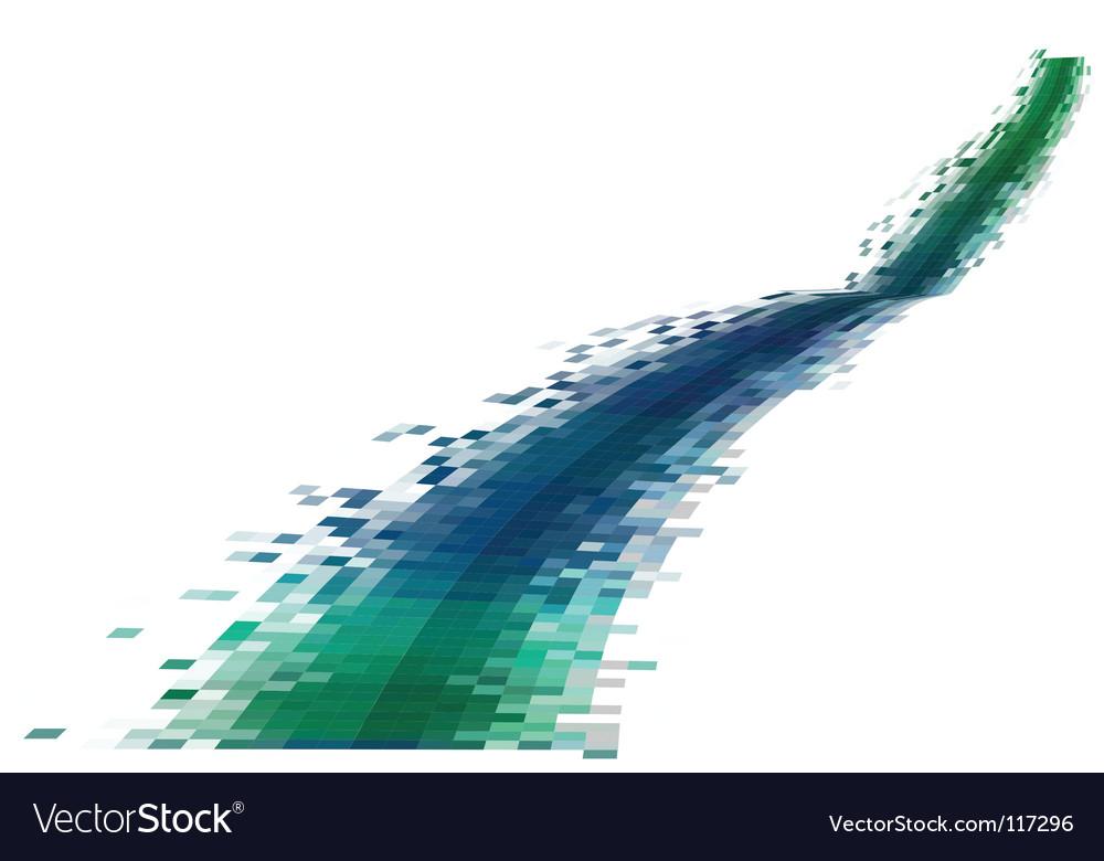 Data stream vector | Price: 1 Credit (USD $1)