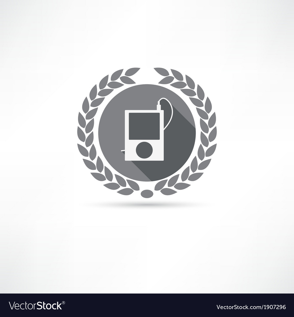 Mp4 icon vector | Price: 1 Credit (USD $1)