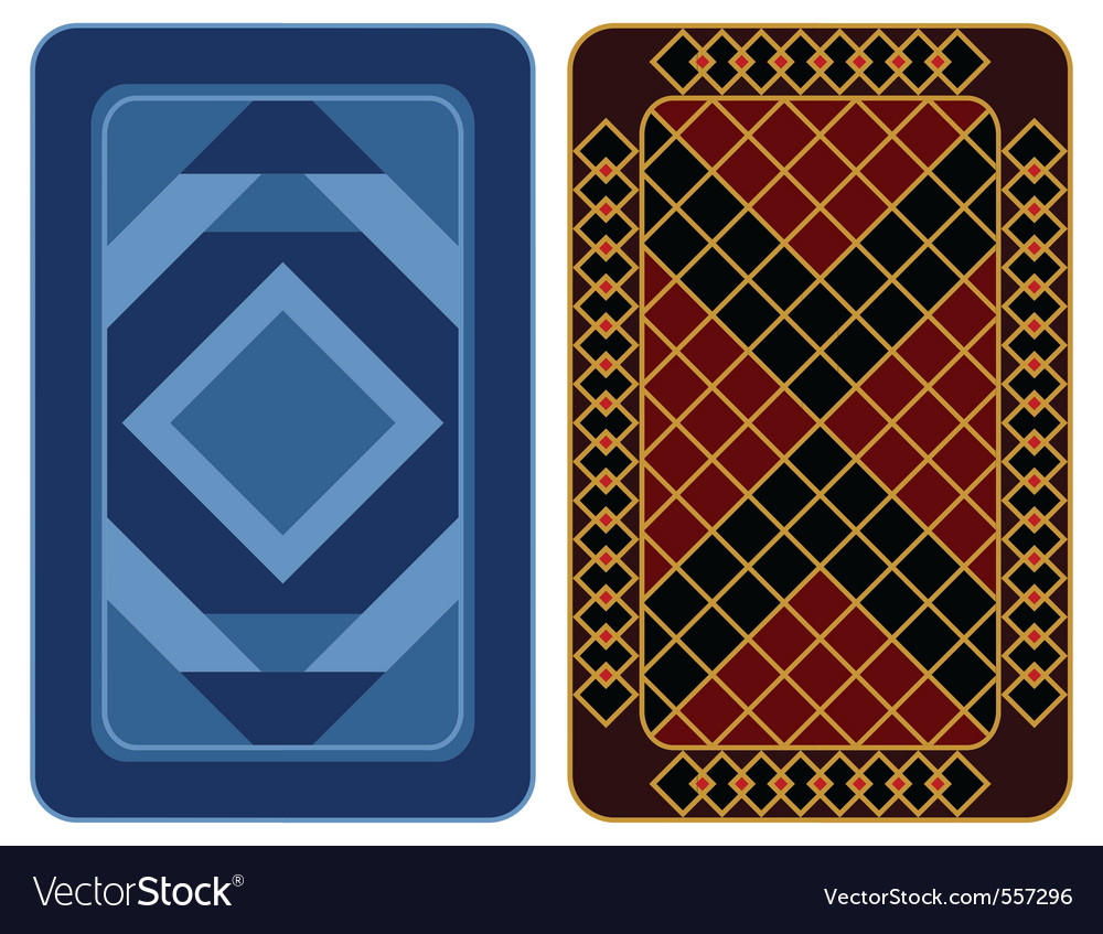 Playing card design vector | Price: 1 Credit (USD $1)