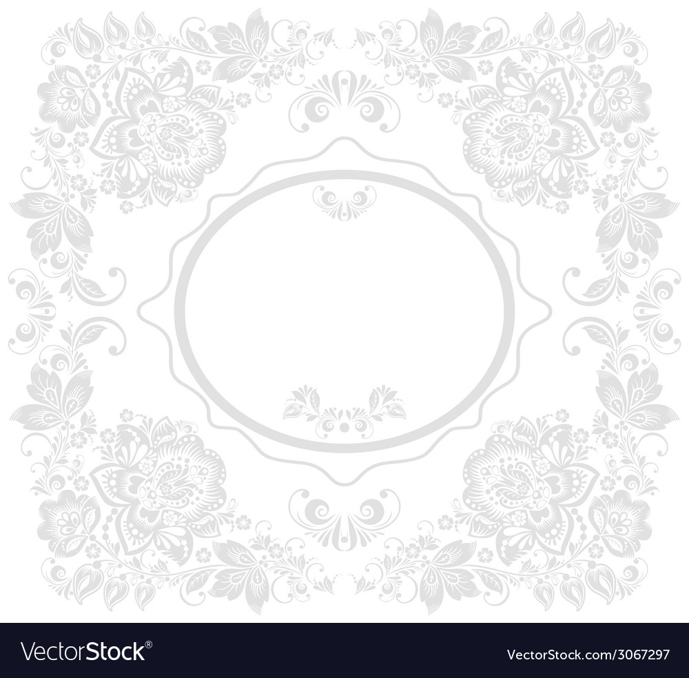 Background of floral pattern with traditional vector | Price: 1 Credit (USD $1)