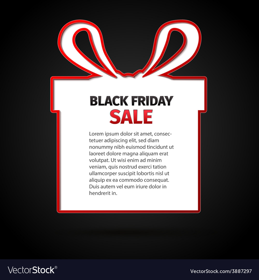 Black friday sale abstract vector | Price: 1 Credit (USD $1)