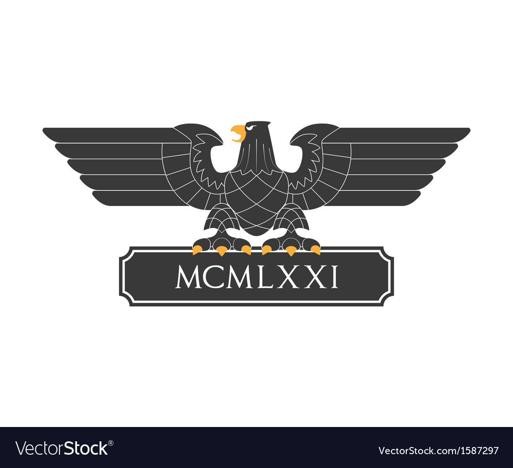 Heraldic eagle 20 vector | Price: 1 Credit (USD $1)