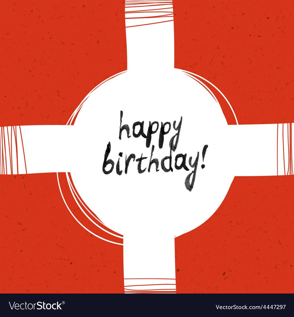 Packaging happy birthday vector   Price: 1 Credit (USD $1)