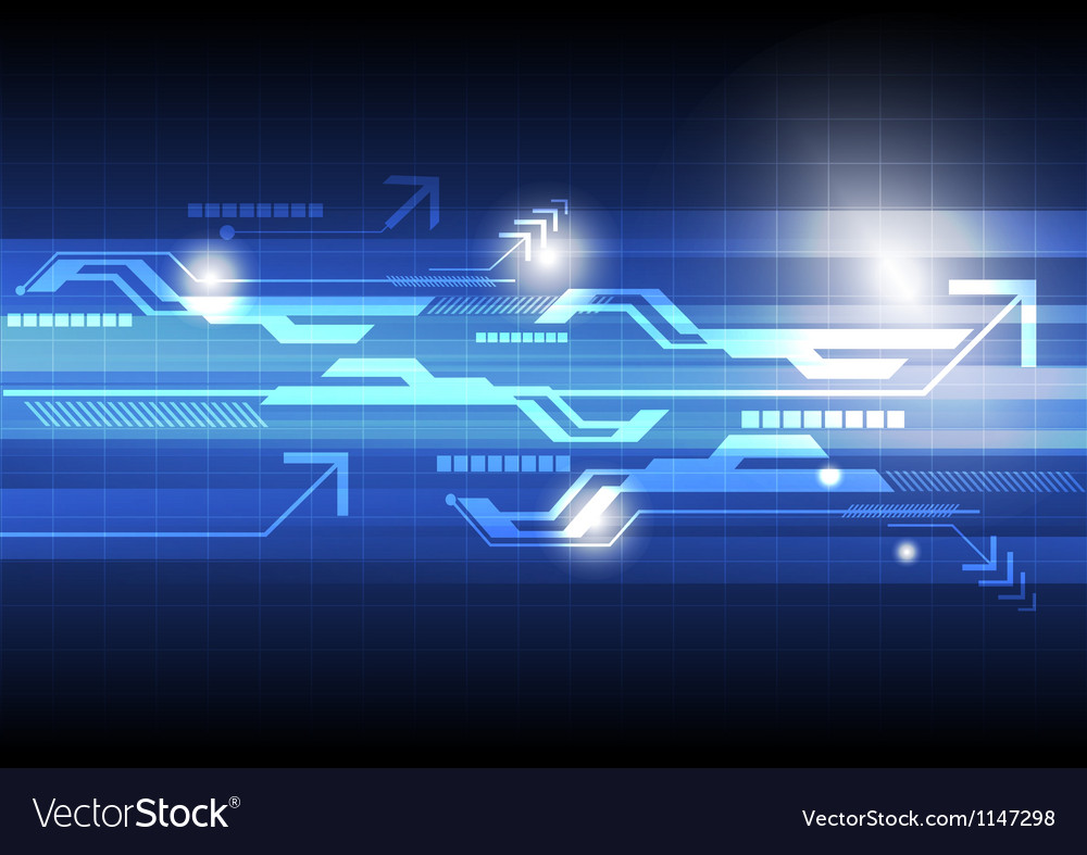 Abstract technology concept background vector | Price: 1 Credit (USD $1)